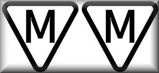 M im Dreieck