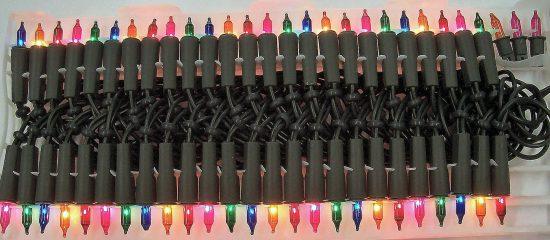 50 Lampen bunt