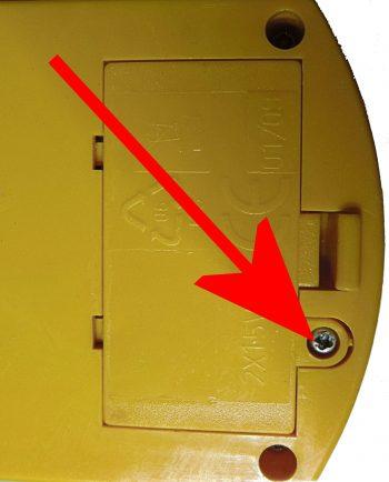 Batteriefach gesichert