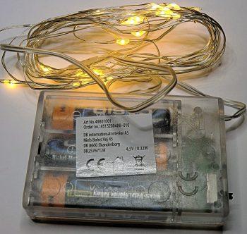 Drahtlichterkette mit Batterie