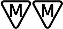 M im Dreick