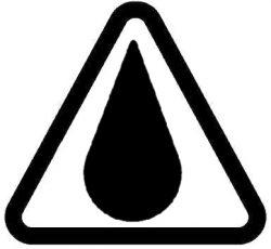IP X5 Schutz gegen Strahlwasser aus beliebiger Richtung.