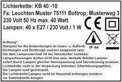 E27-Lichterkette