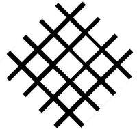 IPX5 Zeichen Gitter ohne Rand