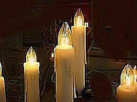 Kerzennachbildung