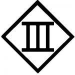 Schutzklasse III Zeichen